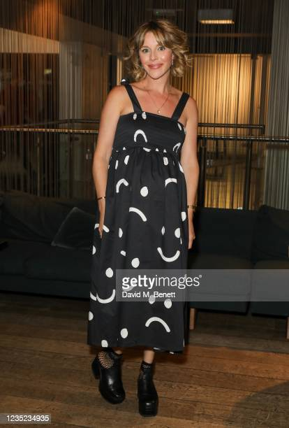 """Sophia Di Martino attends a preview screening of """"Sweetheart"""" at the BFI Southbank on September 13, 2021 in London, England."""