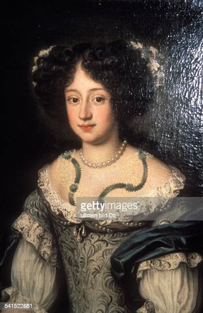 Sophia Dorothea of Celle Sophia Dorothea of Celle *1509166613111726 wife of Georg Ludwig of Hanover portrait around 1700