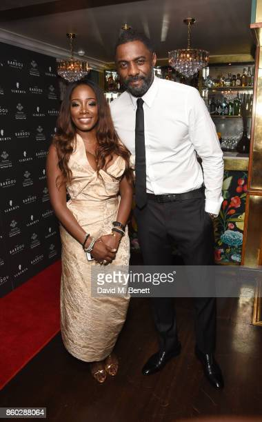Sophia Fosgter and Idris Elba attend the The BARDOU Foundation's International Day Of The Girl Gala in support of The Princes Trust at Albert's Club...