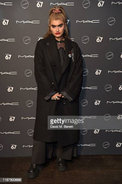 Sophia Hadjipanteli attends the MAC Studio 67 party at Proud Embankment on September 13 2019 in London England