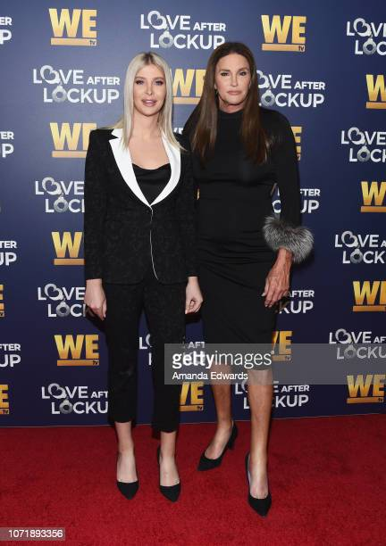 Sophia Hutchins and Caitlyn Jenner arrive at WE tv's Real Love Relationship Reality TV's Past Present Future event at The Paley Center for Media on...