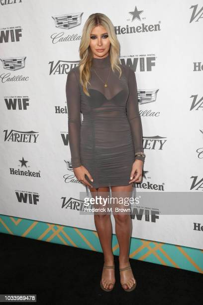 Sophia Hutchins attends Variety and Women in Film's 2018 PreEmmy Celebration at Cecconi's on September 15 2018 in West Hollywood California