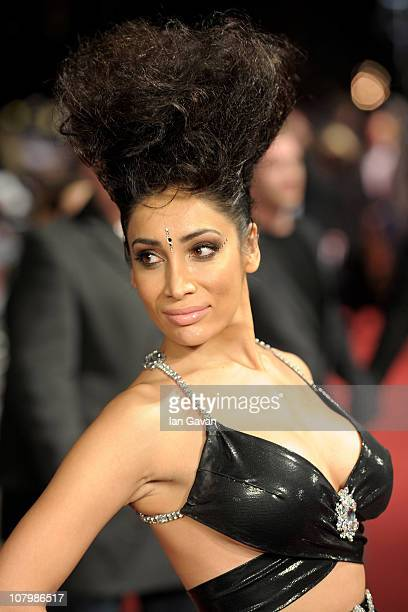 Sophia Hyatt attends the 'Morning Glory' UK premiere at the Empire Leicester Square on January 11 2011 in London England