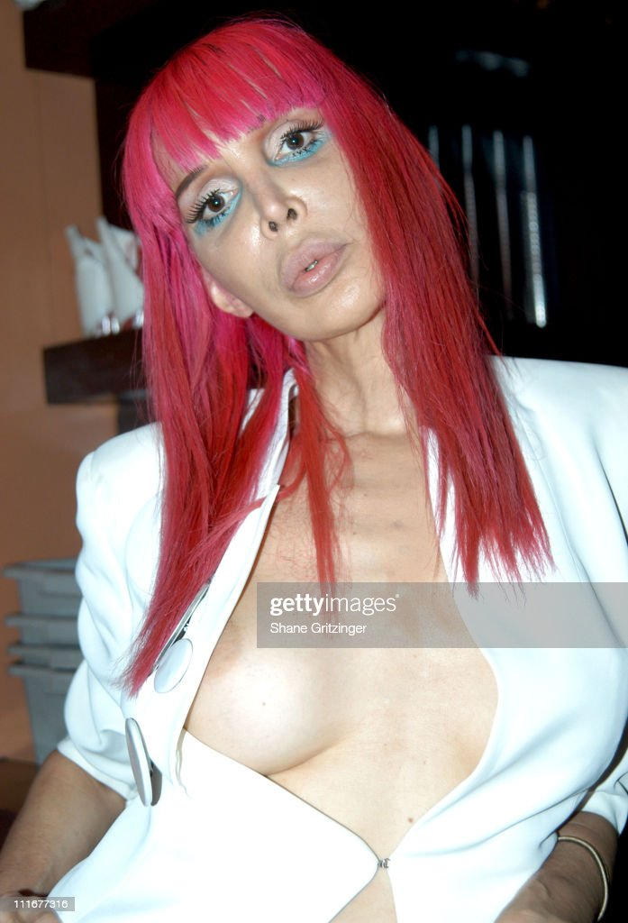 Sophia Lamar during Amanda LaPore Debuts Her New Single 'Champagne' at Plaid in New York City, New York, United States.