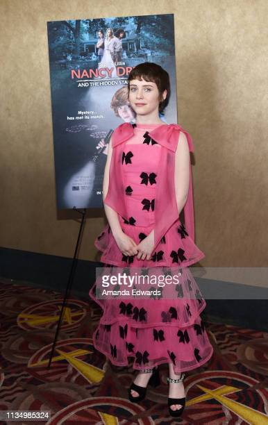 Sophia Lillis arrives at the World Premiere of Nancy Drew And The Hidden Staircase at AMC Century City 15 on March 10 2019 in Century City California