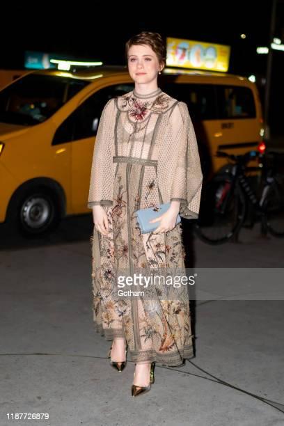 Sophia Lillis attends the 2019 Guggenheim International Gala on November 14 2019 in New York City
