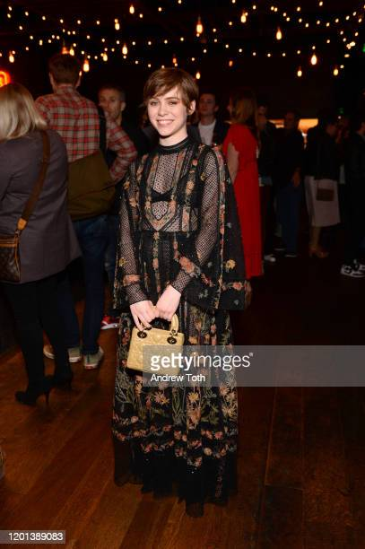 Sophia Lillis attends the after party for the premiere of United Artists Gretel Hansel at Stella Barra on January 22 2020 in Los Angeles California