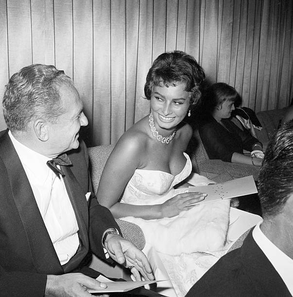 Picture of Don Hartman and Sophia Loren Pictures | Getty Images