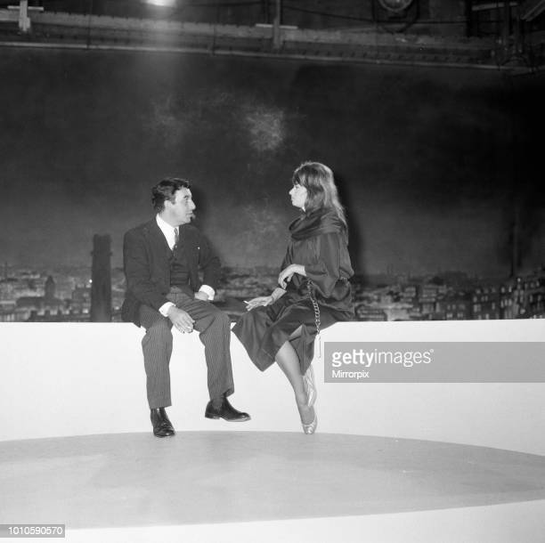 Sophia Loren and Peter Sellers in a scene from the film 'The Millionairess' at MGM film studios at Elstree 13th July 1960