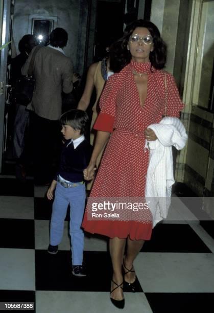 Sophia Loren and Son Edoardo Ponti during Sophia Loren and Son Edoardo Ponti Sighting at Hamilton House January 17 1978 at Hamilton House in New York...