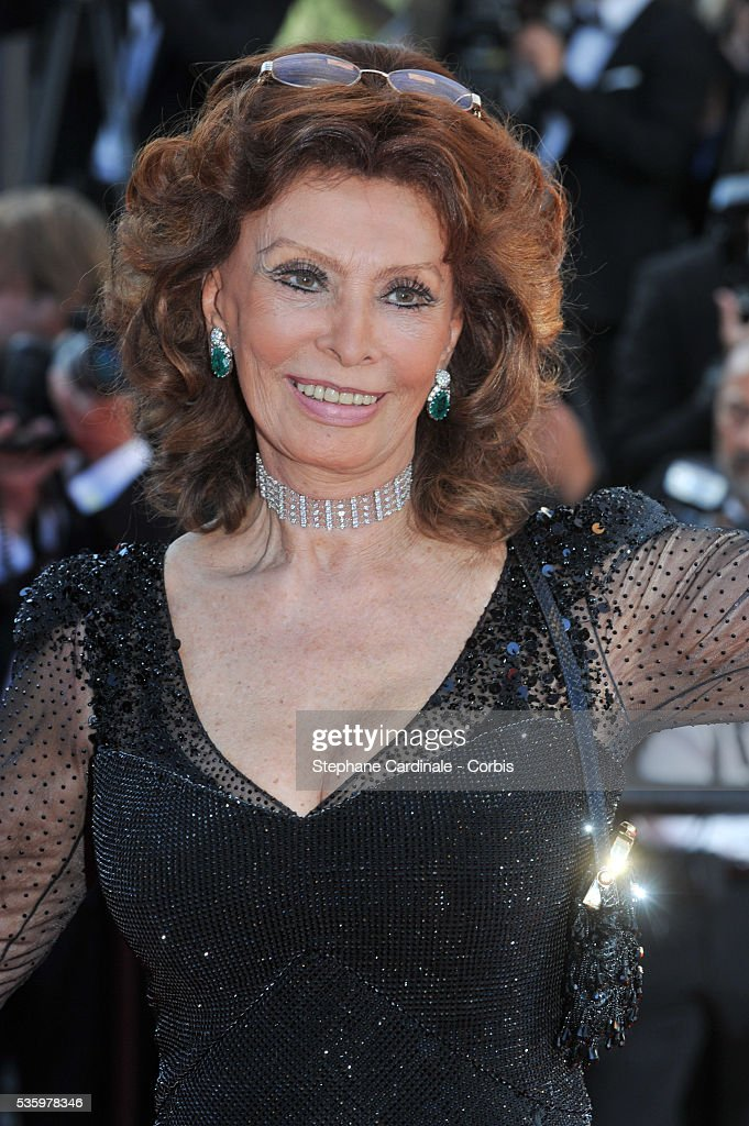 Sophia Loren at the Closing ceremony and 'A Fistful of Dollars' screening during 67th Cannes Film Festival