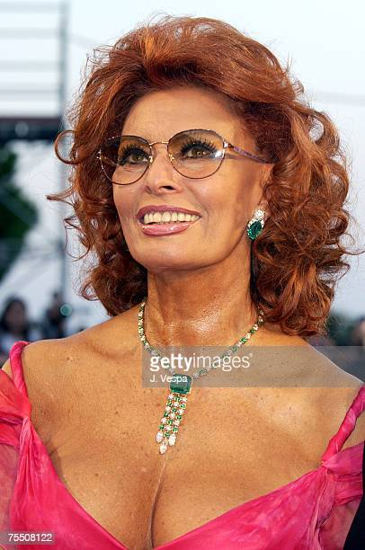 Sophia Loren at the Palazzo Del Cinema in Venice Lido Italy