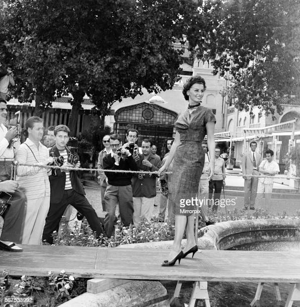 Sophia Loren at the Venice Film Festival September 1958