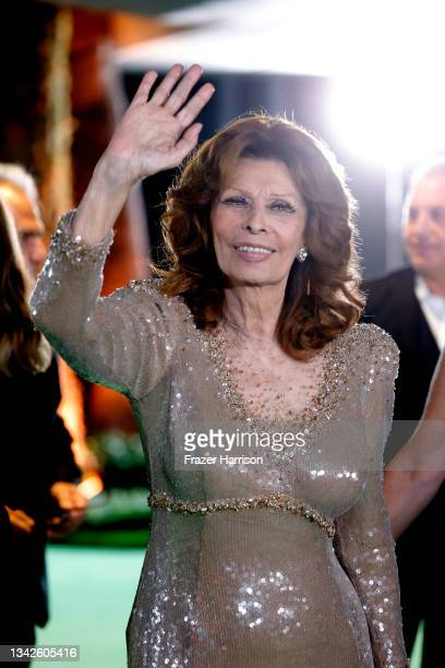 Sophia Loren attends The Academy Museum Of Motion Pictures Opening Gala at Academy Museum of Motion Pictures on September 25, 2021 in Los Angeles,...