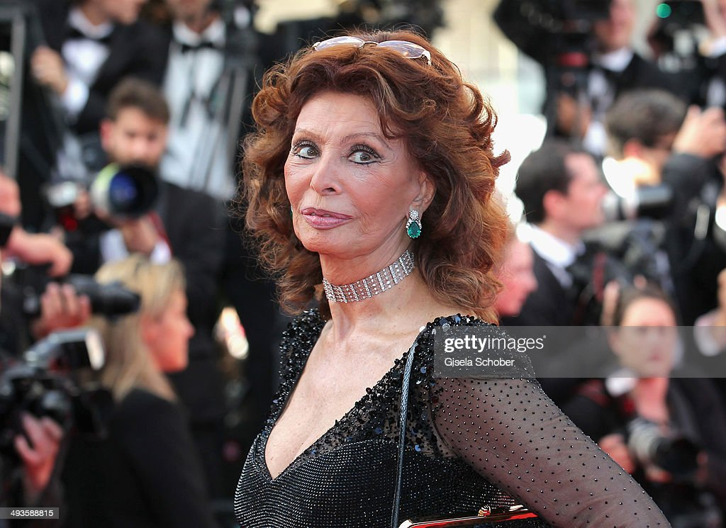 Sophia Loren attends the Closing Ceremony and 'A Fistful of Dollars' screening during the 67th Annual Cannes Film Festival on May 24, 2014 in Cannes, France.