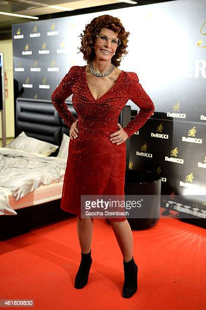 Sophia Loren attends the DeRucci Grand Opening Party at Cologne Flora on January 19 2015 in Cologne Germany