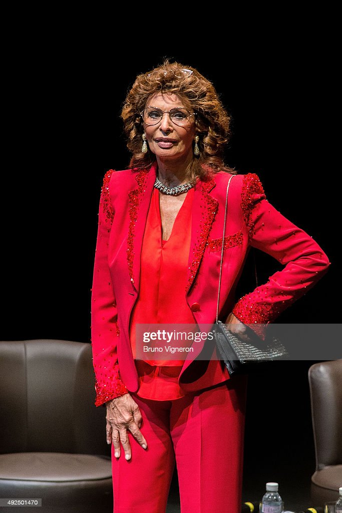 Tribute To Sophia Loren - 7th Lumiere Film Festival In Lyon