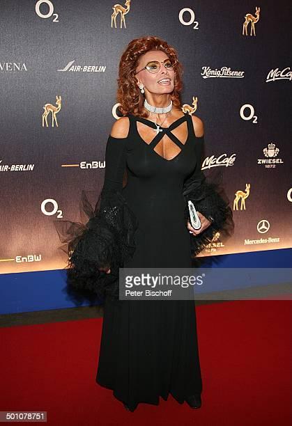 Sophia Loren , Bambi-Verleihung, Congress Centrum, Düsseldorf, Nordrhein-Westfalen, Deutschland, Europa, Preisverleihung, Kleid, Abendkleid,...