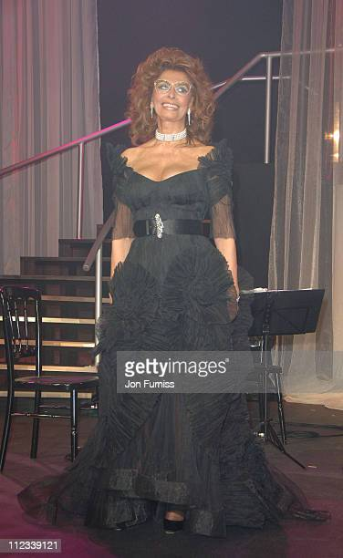 Sophia Loren during 2007 Pirelli Calendar Launch Cocktail Reception and Gala Dinner at Battersea Evolution in London Great Britain