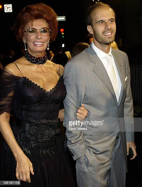 Sophia Loren Children Stock Photos And Pictures Getty Images