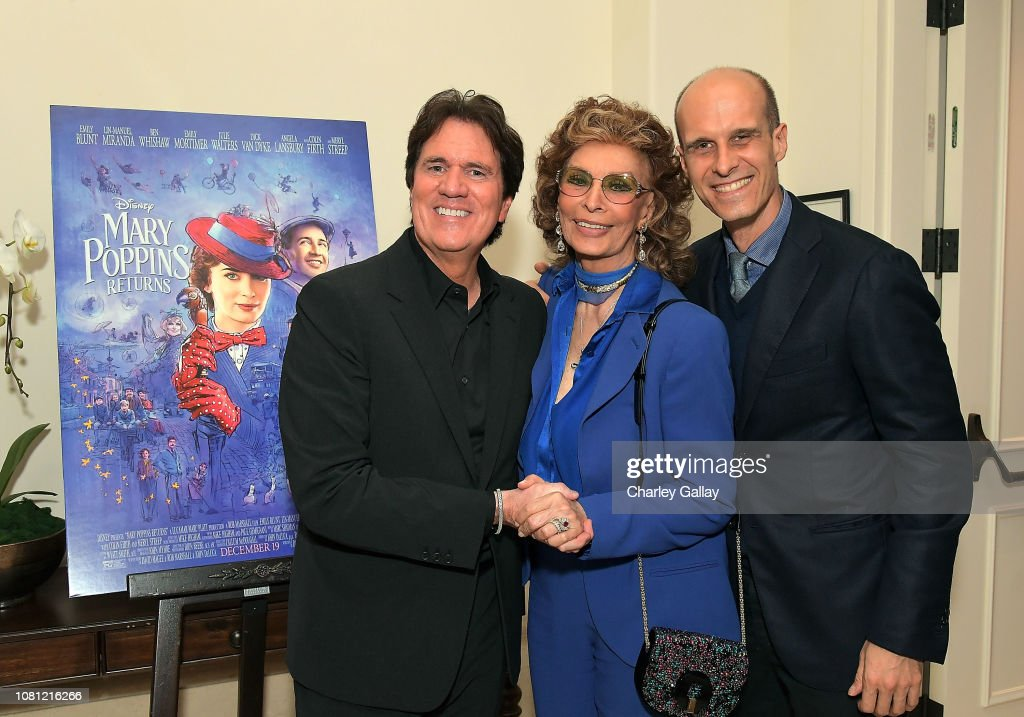 Sophia Loren Hosts Special Screening And Reception Of 'Mary Poppins Returns' In Beverly Hills : News Photo