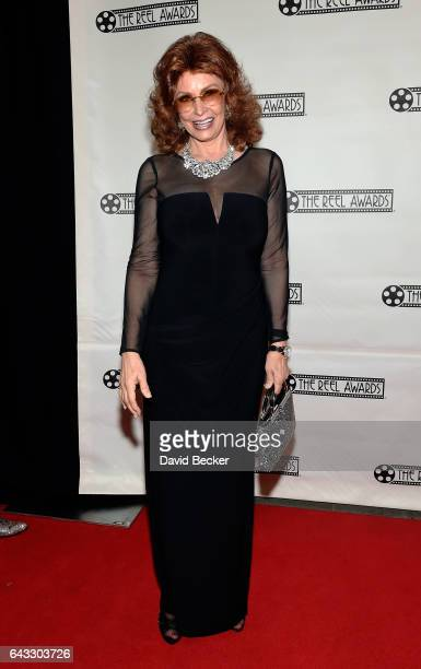 Sophia Loren impersonator Vera Novak attends The Reel Awards 2017 at the Golden Nugget Hotel Casino on February 20 2017 in Las Vegas Nevada
