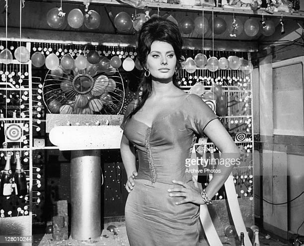 Sophia Loren in a scene from the film 'Bocaccio 70' 1962