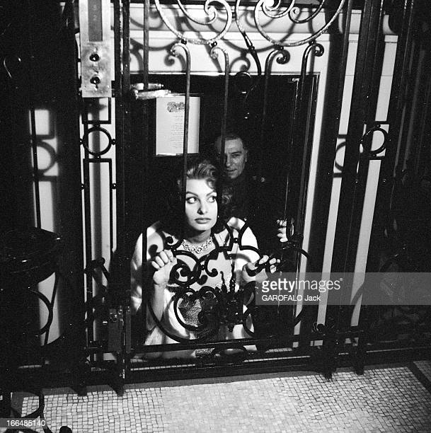 Sophia Loren In Brussels And Paris For The Release Of The Film 'Pain Amour Ainsi SoitIl' France Paris 24 mars 1956 l'actrice italienne Sophia LOREN...