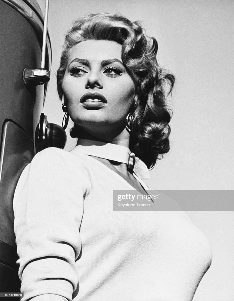 Sophia Loren In The Fortune To Be A Woman Movie On October 1955 : News Photo