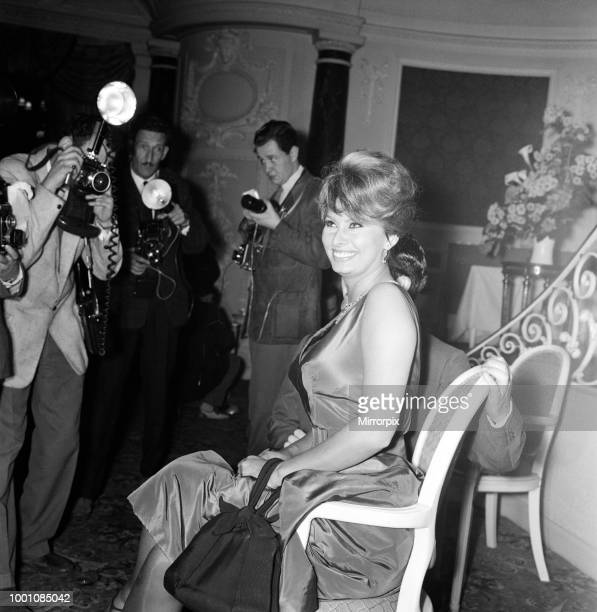 Sophia Loren, who will be starring with Peter Sellers in the Dimitri de Grunwald production. 'The Millionairess' based on the play by George Bernard...