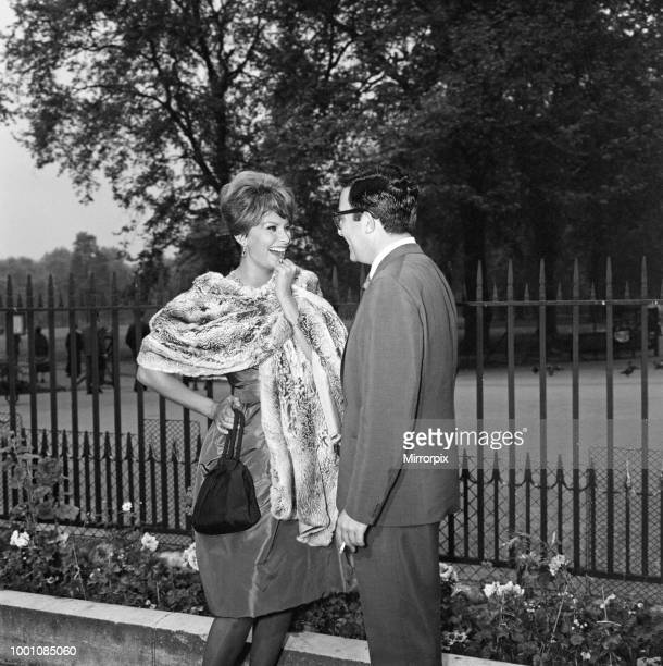 Sophia Loren with Peter Sellers They will be starring together in the Dimitri de Grunwald production 'The Millionairess' based on the play by George...