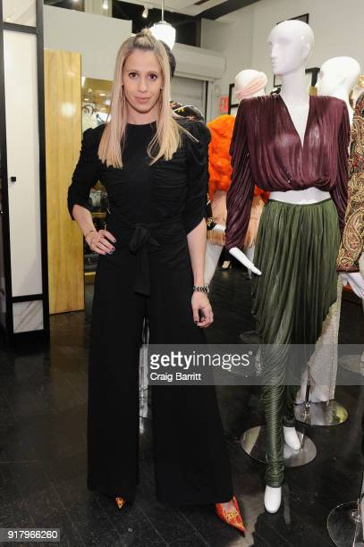 Sophia Mack attend Vintage For The Future A Norma Kamali Retrospective by What Goes Around Comes Around on February 13 2018 in New York City