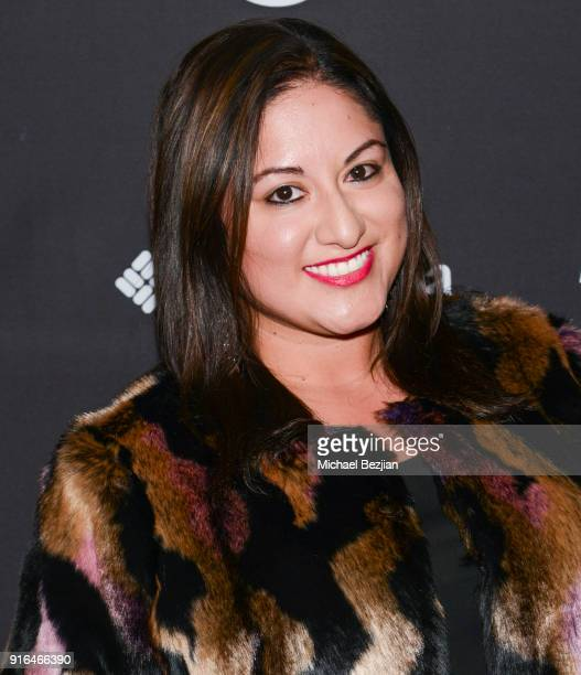 Sophia Marcs arrives at Unsolved The Murders Of Tupac and The Notorious BIG at Inaugural Mammoth Film Festival Day 2 on February 9 2018 in Mammoth...