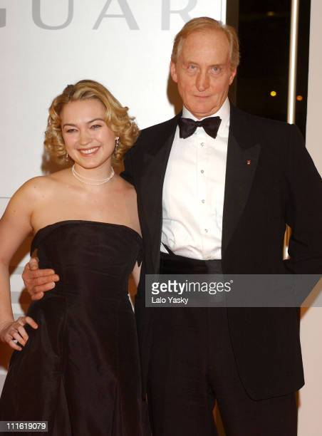 Sophia Myles and Charles Dance during 2004 European Film Academy Awards at The Forum in Barcelona Spain