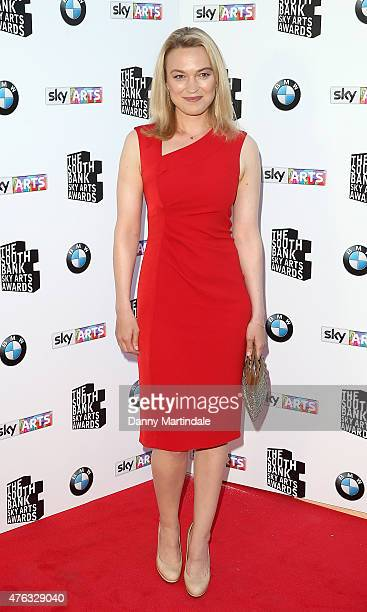 Sophia Myles attend the South Bank Sky Arts Awards at The Savoy Hotel on June 7 2015 in London England