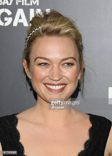 Sophia Myles attends the 'Pain Gain' Los Angeles Premiere held at TCL Chinese Theatre on April 22 2013 in Hollywood California
