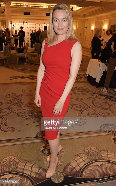 Sophia Myles attends the South Bank Sky Arts awards at The Savoy Hotel on June 7 2015 in London England
