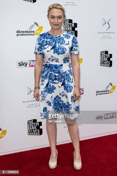 Sophia Myles attends The Southbank Sky Arts Awards 2017 at The Savoy Hotel on July 9 2017 in London England