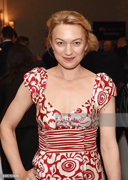 Sophia Myles attends the The South Bank Sky Arts Awards airing on Wednesday 8th June on Sky Arts at The Savoy Hotel on June 5 2016 in London England