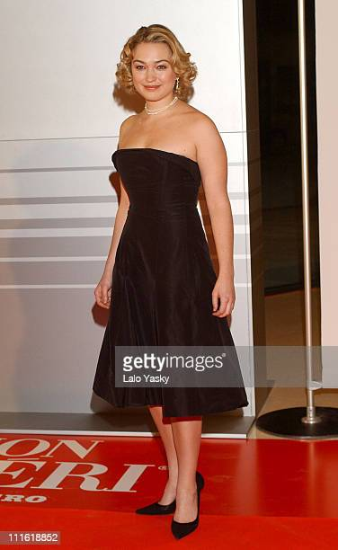 Sophia Myles during 2004 European Film Academy Awards at The Forum in Barcelona Spain