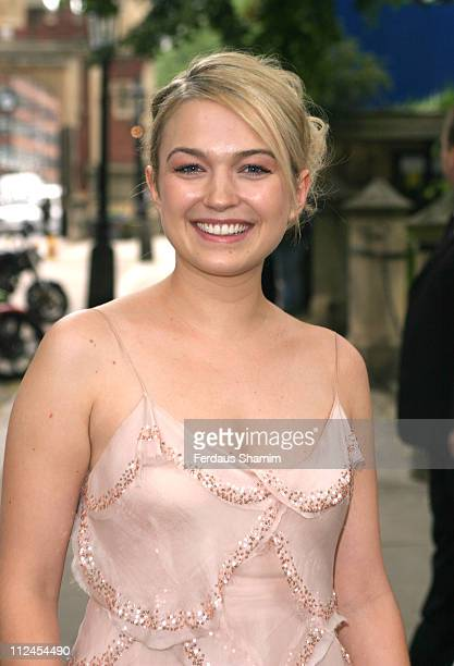 Sophia Myles during Thunderbirds London Premiere After Party Arrivals at Lincoln's Inn Field in London Great Britain