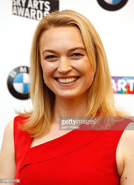 Sophia Myles in the press room at the South Bank Sky Arts Awards at The Savoy Hotel on June 7 2015 in London England