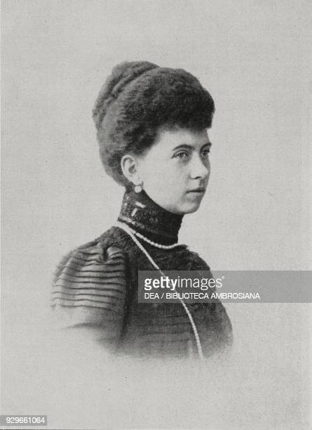 Sophia of Prussia wife of King Constantine I of Greece, from L'Illustrazione Italiana, Year XL, No 12, March 23, 1913.