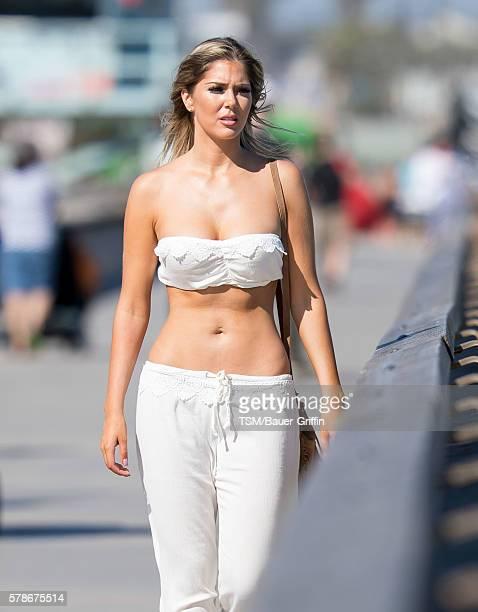 Sophia Pierson is seen on July 21 2016 in Los Angeles California