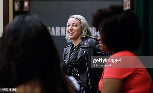 Sophia Rivka Rossi discusses her new book ' A Tale Of Two Besties' with Akilah Hughes at Barnes Noble Tribeca on May 28 2015 in New York City