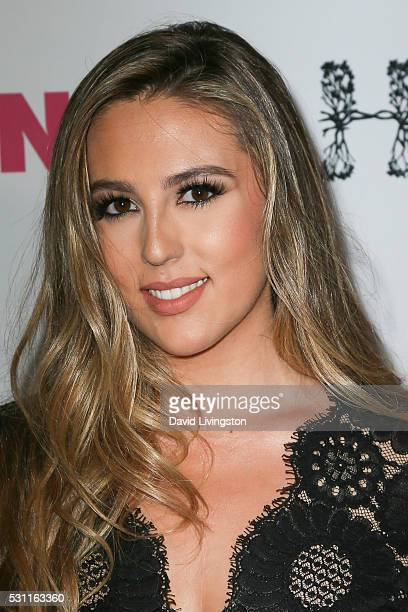 Sophia Rose Stallone arrives at NYLON and BCBGeneration's Annual Young Hollywood May Issue Event at HYDE Sunset Kitchen Cocktails on May 12 2016 in...