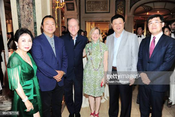 Sophia Sheng Jason Zhu Mike Krupa Dinda Elliott Kevin Ling and Grant Jiao attend the 2018 China Fashion Gala at The Plaza Hotel on May 4 2018 in New...