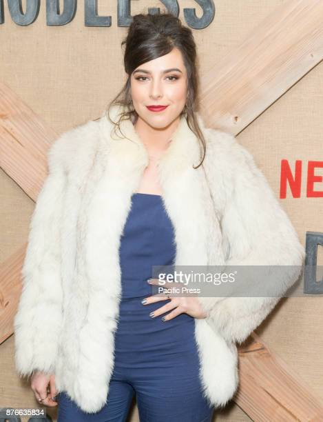 Sophia Silver attends Netflix Godless premiere at Metrograph