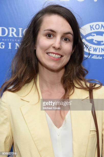Sophia Takal attends the IFC Films Independent Spirit Awards After Party presented by MovieGrade App Hendricks Gin and Kona Brewing Company on March...