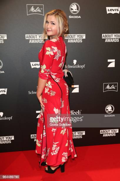 Sophia Thiel @ pumpingsophiathiel during the 2nd ABOUT YOU Awards 2018 at Bavaria Studios on May 3 2018 in Munich Germany